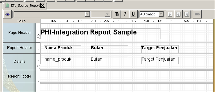Pentaho report designer tutorial